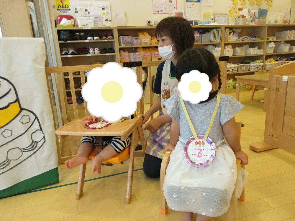 ☆7月の誕生日会☆